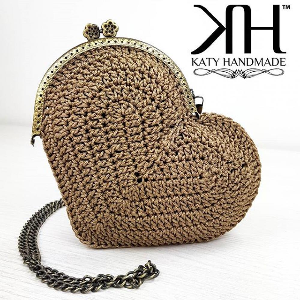 Kit Clutch Cuore By Katy Handmade