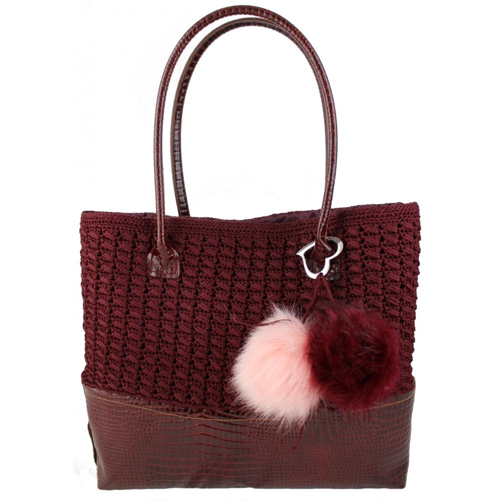 841570e341 Kit Borsa all'uncinetto Tote bag